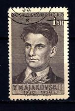 CZECHOSLOVAKIA - CECOSLOVACCHIA - 1950 - 20° anniversario della morte di Vladimi
