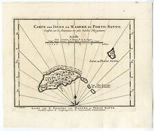 MADEIRA-PORTO SANTO-FUNCHAL-Jakob VAN DER SCHLEY-PREVOST-BELLIN-1747