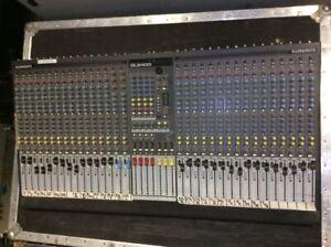 ALLEN & HEATH GL2400 32 CHANNEL PRO AUDIO MIXING BOARD MIXER CONSOLE & CASE