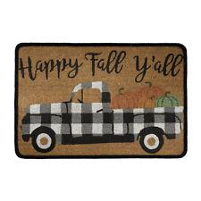 Happy Fall Yall Doormat Fashion Floor Mat Carpet Entrance Rug Indoor Outdoor