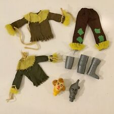 Vintage Mego Scarecrow & Tin Man Parts Head Armor Pants Shirt Boots Accessories