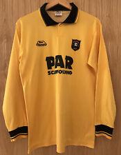 Ultra Rare Meadowbank Thistle - Livingstone 1990/1991 Football Shirt Medium