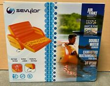 Sevylor Air Tight Double Water Lounger - 2000020220 -Holds capacity of 2 people!
