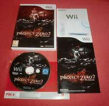 Nintendo Wii Project Zero 2 Wii Edition [PAL-FRA] Super *JRF