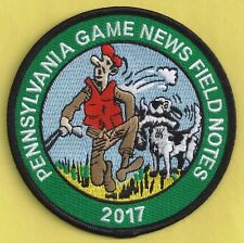 """Pa Pennsylvania Game Commission NEW 4"""" 2017 Pa Game News Magazine Patch"""