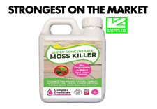 MOSS KILLER ROOF & PATIO CLEANER CONCENTRATE MAKES 105 LITRES