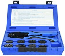 SG Tool Aid Sgt18980 Ratcheting Terminal Crimping Kit Quick Change With 9 Die