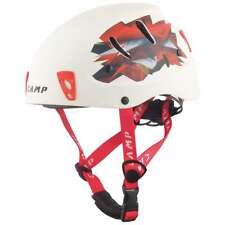 Camp Usa Armour Helmet - White/Red Small