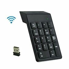 2.4GHz Wireless USB Number Pad Numeric Keypad Keyboard 18 Keys For Laptop PC USA