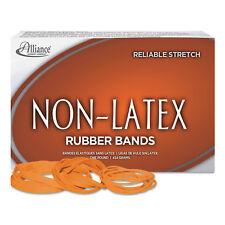Alliance Non-Latex Rubber Bands Sz. 33 Orange 3 1/2 x 1/8 850 Bands/1lb Box