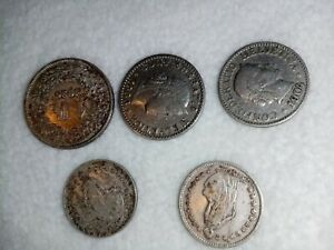 Old swiss silver coins