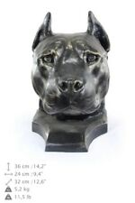 American Staffordshire Terrier - dog head resin figurine, high quality, Art Dog