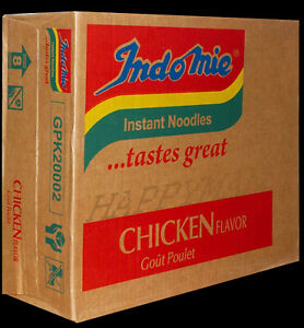 Nigerian Indomie Chicken Noodles 40 packets X 80G  Indo Mie