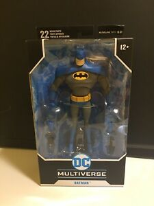 """McFarlane Toys DC Multiverse 7"""" BATMAN The Animated Series Blue Gray Variant NEW"""