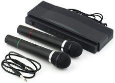TEMPO DI SALDI Karaoke Mikrofon-Set, kabellos, mit professionellem Empfänger