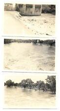 1947 flood Beatrice Nebraska Gage County, Big Blue River overflows, lot @ 3 pics
