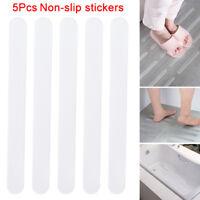 5pcs Bathroom Bathtub Transparent Non-slip Stickers Stairs Tape Anti-slip Strap