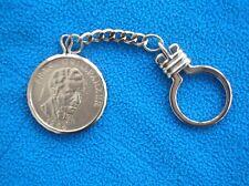 Schlüsselanhänger m. 25 Schilling-Gedenkmünze, Ag 800, GRILLPARZER, Österreich