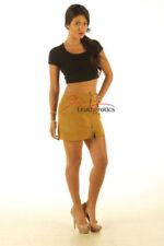 Gonne e minigonne da donna marrone in pelle Taglia 40
