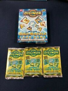 Digimon Digi Battle TCG Starter Set 2 Player Pack NEW with 3 Series 2 Boosters