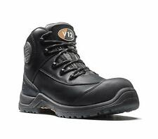 V12 Womens Intrepid Safety Work Boots Black (Sizes 2-8) Women's Shoes