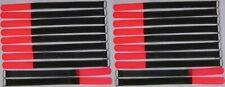 20 Klett Kabelbinder 300 x 20 mm neonrot SO Kabelklettband Kabelklett Klettband
