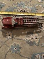 1930's Antique Toys Diecast Fire Ladder Truck