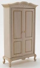 Dollhouse Miniatures 1:12 Scale Wardrobe, Unfinished #Cla08691
