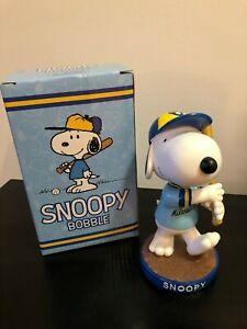Snoopy Bobblehead Bobble Head Milwaukee Brewers Baseball Bat Peanuts SGA Theme