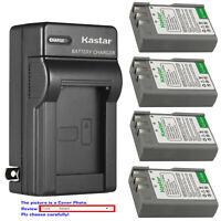 Kastar Battery AC Wall Charger for EN-EL9a MH-23 & Nikon D60 SLR Digital Camera