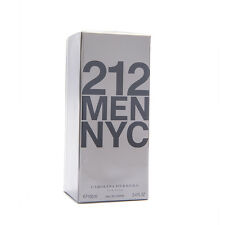 Carolina Herrera 212 3.4oz 100ml Men Eau de Toilette 100% Original & Sealed Box