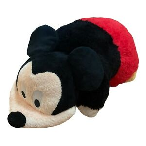 Official Mickey Mouse Disney Pillow Pets 41cm Large Plush Pillow Soft Toy