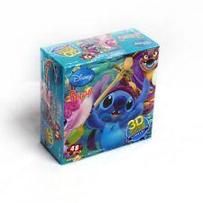 Disney Pixar Animation Lilo And Stitch 3D Jigsaw Puzzle 48PCS For Kids