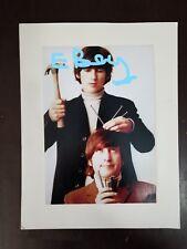 THE BEATLES Photo, George Harrison and John Lennnon, 5 5/16 x 8 7/16