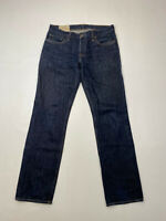 HOLLISTER SLIM STRAIGHT Jeans - W32 L32 - Navy - Great Condition - Men's