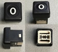 Mercedes w201 Climate Control AC Heat OFF Button Knob 190e 2.3 2.6 2.3-16 190d +