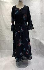 "Long Dress Maxi Dress Abaya Burka with Full Sleeves and Inner Lining 38"" - UK"