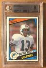 Dan Marino 1984 Topps Rookie Card #123, BGS 9, MINT (BIGJ'S) Miami Dolphins