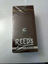 Reed's Root Beer is BACK! 24ct Full Case Classic Hard Candy Rolls