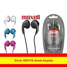Original Auriculares Cascos Maxell EB-98 In-Ear Botón PARA SAMSUNG IPHONE 3.5mm