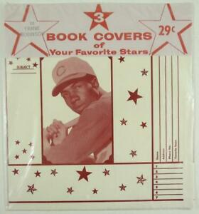 c. 1960 Frank Robinson Baseball Book Covers in Original Package