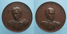 ALFREDO ED EMILIO SAVIO RARA MEDAGLIA 1861 bello SPL
