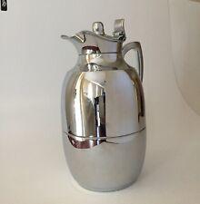 Alfi Jewel Glass Vacuum Chrome Plated BrassThermal Hot/Cold Beverage Carafe
