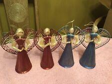 4 Angel Ornaments