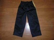 Garanimals black athletic pants with gold & white up sides of legs size 4T