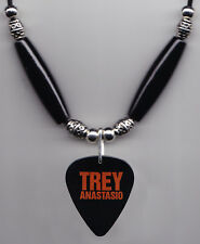 Phish Trey Anastasio Signature Black Guitar Pick Necklace - 2005 Shine Tour