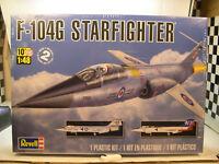 VIETNAM ERA F-104G STARFIGHTER REVELL 1:48 SCALE PLASTIC MODEL AIRPLANE KIT