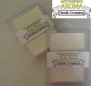 Soy Wax Break Away Clamshell  tart melt wickless candle 300+ SCENTS Listing #2