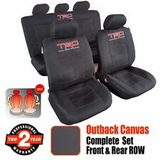 New Outback Canvas TRD Sports Car Seat Cover Car Interior Accessories For Toyota