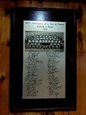NHL VINTAGE 1972 SUMMIT SERIES  30th ANNIVERSARY COMMEMORATIVE PLAQUE 1 of 1